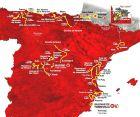 Η διαδρομή του φετινού Γύρου Ισπανίας.
