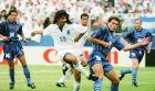 Ο Σάββας Κωφίδης στο παιχνίδι της Εθνικής με την Αργεντινή