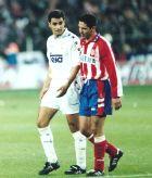 Μίτσελ και Τσόλο Σιεμόνε από μαδριλένικο ντέρμπι του 1995.