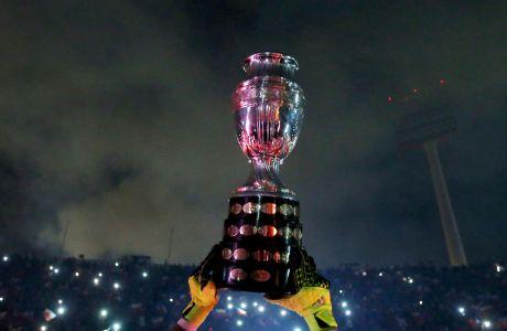 Το τρόπαιο του Copa América.