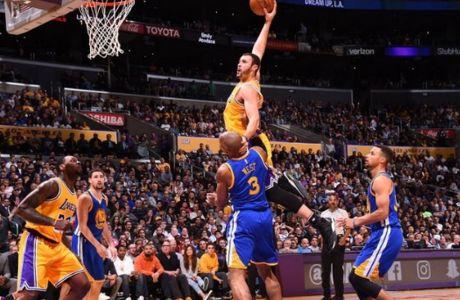 Πάρτι των Lakers απέναντι στους Warriors!