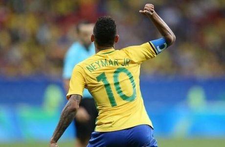 Με γκολ του Νεϊμάρ προκρίθηκε η Βραζιλία