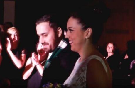 Ο απόλυτος Παναθηναϊκός γάμος με guest star... Δημήτρη Διαμαντίδη!