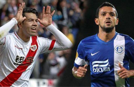 Partido de liga disputado entre Rayo y el Sevilla