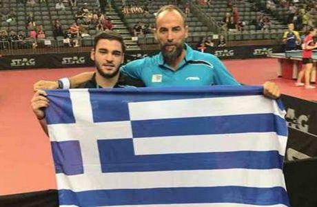 "O ""χρυσός"" Σγουρόπουλος απέδειξε ότι υπάρχει μέλλον και στο πινγκ πονγκ"