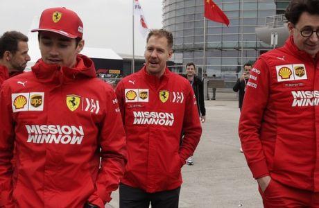 Η Ferrari προτιμά τον Φέτελ και ο κόσμος τον Λεκλέρκ