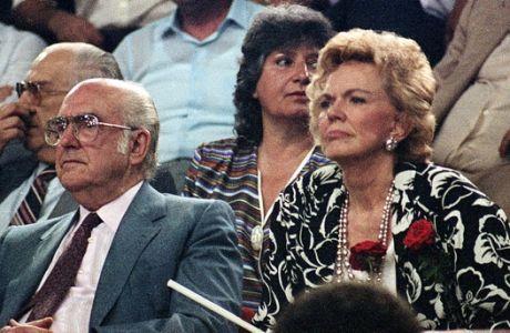 Ο Ανδρέας Παπανδρέου με τη σύζυγό του, Μαργαρίτα