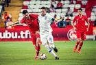 Ο Φορτούνης προστατεύει την μπάλα από τον Γιοκουσλού, στο φιλικό Τουρκίας - Ελλάδας στην Αττάλεια