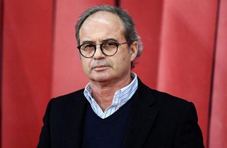 Ο τεχνικός διευθυντής της Λιλ, πρώην της Μονακό και άλλοτε σκάουτ της Ρεάλ Μαδρίτης, Λουίς Κάμπος.