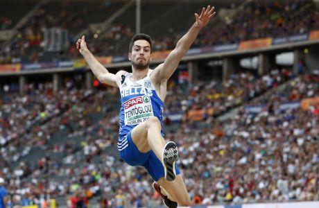 Ο πρωταθλητής Ευρώπης στο άλμα εις μήκος Μίλτος Τεντόγλου θα παραστεί στο φετινό Navarino Challenge