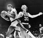Ο Μάτζικ Τζόνσον στην πρώτη του αναμέτρηση κόντρα στον Λάρι Μπέρντ μετά το NCAA.