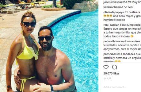 """Τρελό """"κράξιμο"""" στους παίκτες της Χιλής από τη σύζυγο του Μπράβο!"""