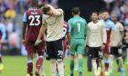 Ο Σκοτ Μακτόμινεϊ της Μάντσεστερ Γιουνάιτεντ, απογοητευμένος, μετά από την ήττα 0-2 από τη Γουέστ Χαμ για την Premier League 2019-2020 στο 'Λόντον Στέιντιουμ', Λονδίνο, Κυριακή 22 Σεπτεμβρίου 2019