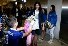 26/06/2017 Arrival of Women's Greek National Team in Basketball, in Athens - Greece  Photo by: Andreas Papakonstantinou / Tourette Photography