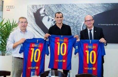 Υπέγραψε... ξανά στην Μπαρτσελόνα ο Ριβάλντο