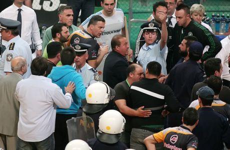 """""""Καίει"""" το φύλλο αγώνα Παναθηναϊκό και Γιαννακόπουλο (PHOTO)"""