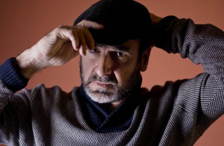 Actor Eric Cantona poses for portraits for the movie Les Rois Du Monde at the Rome Film Festival in Rome, Monday, Oct. 19, 2015. (AP Photo/Domenico Stinellis)