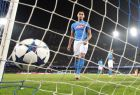 Napoli's Faouzi Ghoulam reacts after Real Madrid's Sergio Ramos scored their first goal during the Champions League round of 16, second leg, soccer match between Napoli and Real Madrid at the San Paolo stadium in Naples, Italy, Tuesday March 7, 2017. (AP Photo/Andrew Medichini)