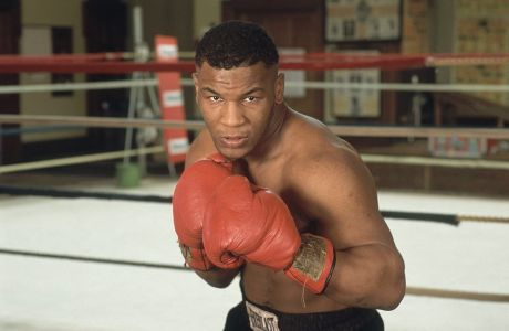 Ο μποξέρ Μάικ Τάισον το 1986
