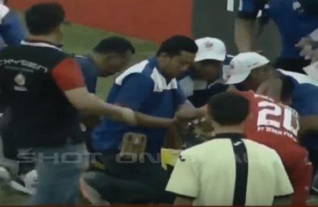 Θρήνος! Σκοτώθηκε τερματοφύλακας στην Ινδονησία εν ώρα αγώνα