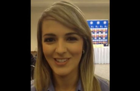 Η Βραζιλιάνα Suzi Martins προφέρει το όνομα του Χριστοδουλόπουλου!