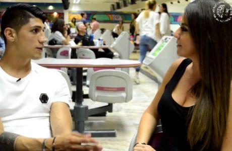 Η συνέντευξη του Πουλίδο στην σέξι Μαριάννα
