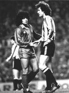 Μαραντόνα και Γκοϊκοετσέα δίνουν τα χέρια σε μια κίνηση συμφιλίωσης (1/2/1984)