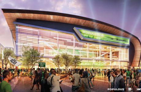 Το νέο γήπεδο των Μιλγουόκι Μπακς!