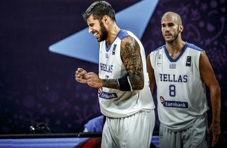 ÅÕÑÙÌÐÁÓÊÅÔ 2017 / ÅËËÁÄÁ - ÑÙÓÉÁ / EUROBASKET 2017 / GREECE - RUSSIA / / (ÖÙÔÏÃÑÁÖÉÁ: FIBA.COM)