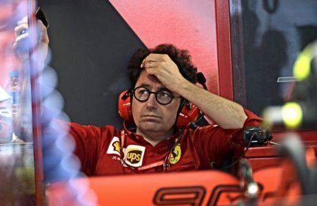 Η Ferrari δεν αναμένεται να αντικαταστήσει τον Ματία Μπινότο έως το τέλος της τρέχουσας σεζόν.