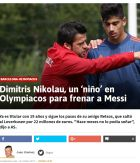 Οι Μαδριλένοι αποθεώνουν πιτσιρικά του Ολυμπιακού