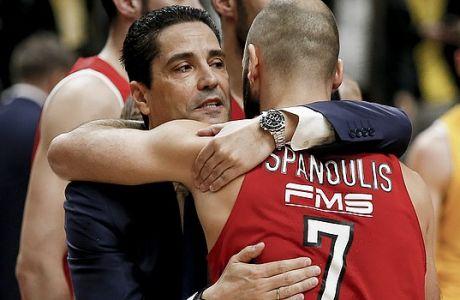 Μακάμπι - Ολυμπιακός: Ο Σφαιρόπουλος δεν άφησε τον Σπανούλη να τον νικήσει