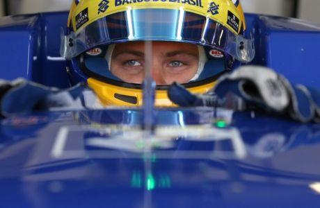 Marcus Ericsson (SWE), Sauber F1 Team.  Silverstone Circuit.