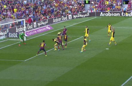 Το ακυρωθέν γκολ της Μπαρτσελόνα (VIDEO)