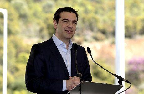 Παράδοση της Σήραγγας των Τεμπών και του τμήματος Μαλιακός-Κλειδί του Αυτοκινητοδρόμου ΠΑΘΕ (Πάτρα-Αθήνα-Θεσσαλονίκη-Εύζωνοι) την Πέμπτη 6 Απριλίου 2017. (EUROKINISSI/ΓΙΑΝΝΗΣ ΠΑΝΑΓΟΠΟΥΛΟΣ)