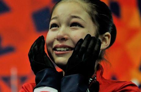 Η 13χρονη Αλίσα Λιου δεν αγωνίζεται για να χάσει