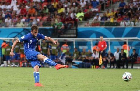 Ο Μαρκίζιο ανοίγει το σκορ για την Ιταλία