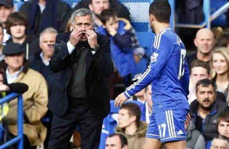 """Αζάρ: """"Ο Μουρίνιο δεν θέλει να παίζουμε ποδόσφαιρο"""""""