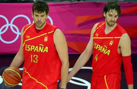H αποστολή της Ισπανίας για το Μουντομπάσκετ