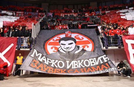 Το κορεό στο ΣΕΦ και το πανό για τον Ίβκοβιτς (VIDEOS)