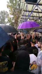 """Ούτε η βροχή σταμάτησε τους """"τρελαμένους"""" ΑΕΚτζήδες"""