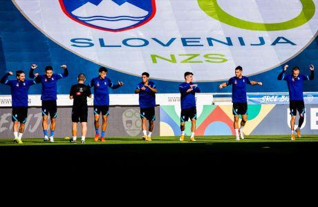 UEFA NATIOSN LEAGUE / ΣΥΝΕΝΤΕΥΞΗ ΤΥΠΟΥ ΚΑΙ ΠΡΟΠΟΝΗΣΗ ΤΗΣ ΕΘΝΙΚΗΣ ΑΝΔΡΩΝ (ΦΩΤΟΓΡΑΦΙΑ: EUROKINISSI)