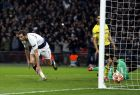 Tottenham defender Jan Vertonghen, left, celebrates after scoring his side's second goal during the Champions League round of 16, first leg, soccer match between Tottenham Hotspur and Borussia Dortmund at Wembley stadium in London, Wednesday, Feb. 13, 2019. (AP Photo/Alastair Grant)