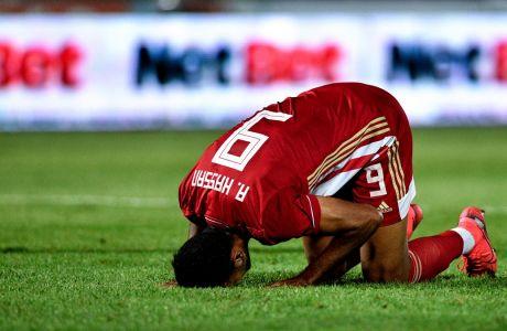 Ο Χασάν πέρασε ως αλλαγή στην αναμέτρηση ΠΑΣ Γιάννινα - Ολυμπιακός (1-1) στους Ζωσιμάδες και στο 83' έχασε σπουδαία ευκαιρία για να δώσει τη νίκη στην ομάδα του, για την 4η αγ. της Super League Interwetten | 04/10/2020 (ΦΩΤΟΓΡΑΦΙΑ: ΑΝΤΩΝΗΣ ΝΙΚΟΛΟΠΟΥΛΟΣ / EUROKINISSI)