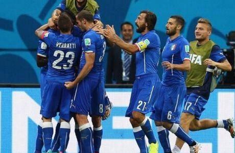 Αγγλία - Ιταλία 1-2 (VIDEO)