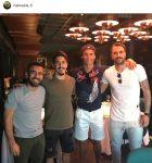 PHOTO: Έφαγαν παρέα με Ρονάλντο οι Σιμόες και Αλμέιδα!