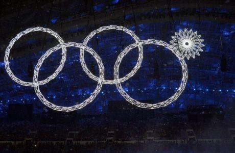 Τελετή Έναρξης με... τέσσερις Ολυμπιακούς κύκλους