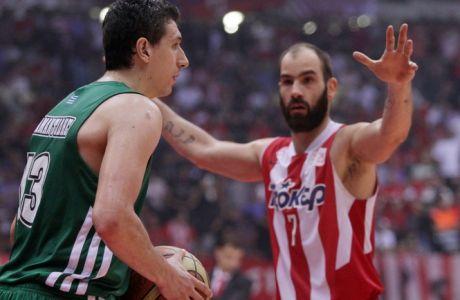 """Οι """"εμφύλιοι"""" Παναθηναϊκού και Ολυμπιακού στην Euroleague"""