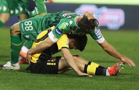 Ο Μαουρίτσιο έχει πέσει πάνω στον Πέτρο Μάνταλο αμέσως μετά την ευκαιρία του δεύτερου στο ντέρμπι του Παναθηναϊκού με την ΑΕΚ