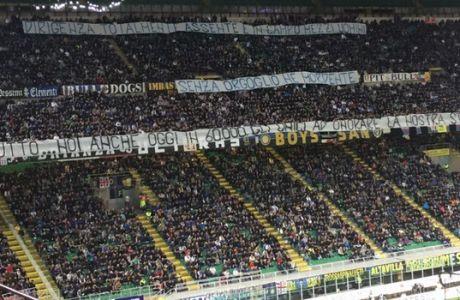 Το πανό που έκανε 60.000 οπαδούς να χειροκροτήσουν!